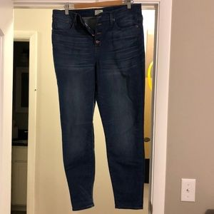 J. Crew Lookout High Rise Skinny 32
